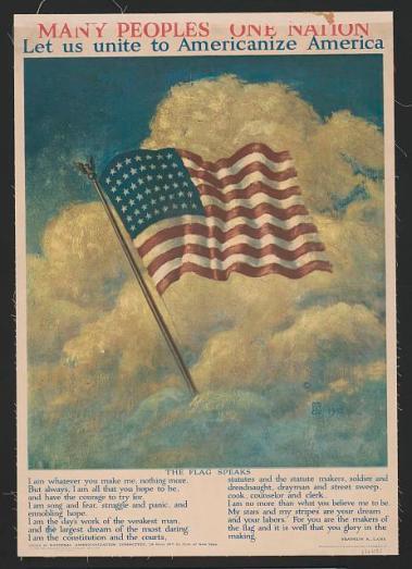 American Flag 1917 39709r